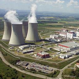 Elektřina z jaderných elektráren
