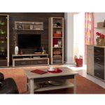 Obývací stěna ovlivní styl celé místnosti