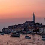 Rovinj Sunset Croatia Istria Sea  - Kokaleinen / Pixabay