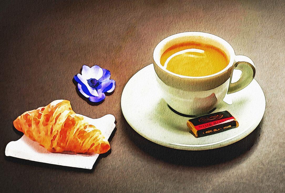 Watercolor Parisian Coffee  - AnnaliseArt / Pixabay