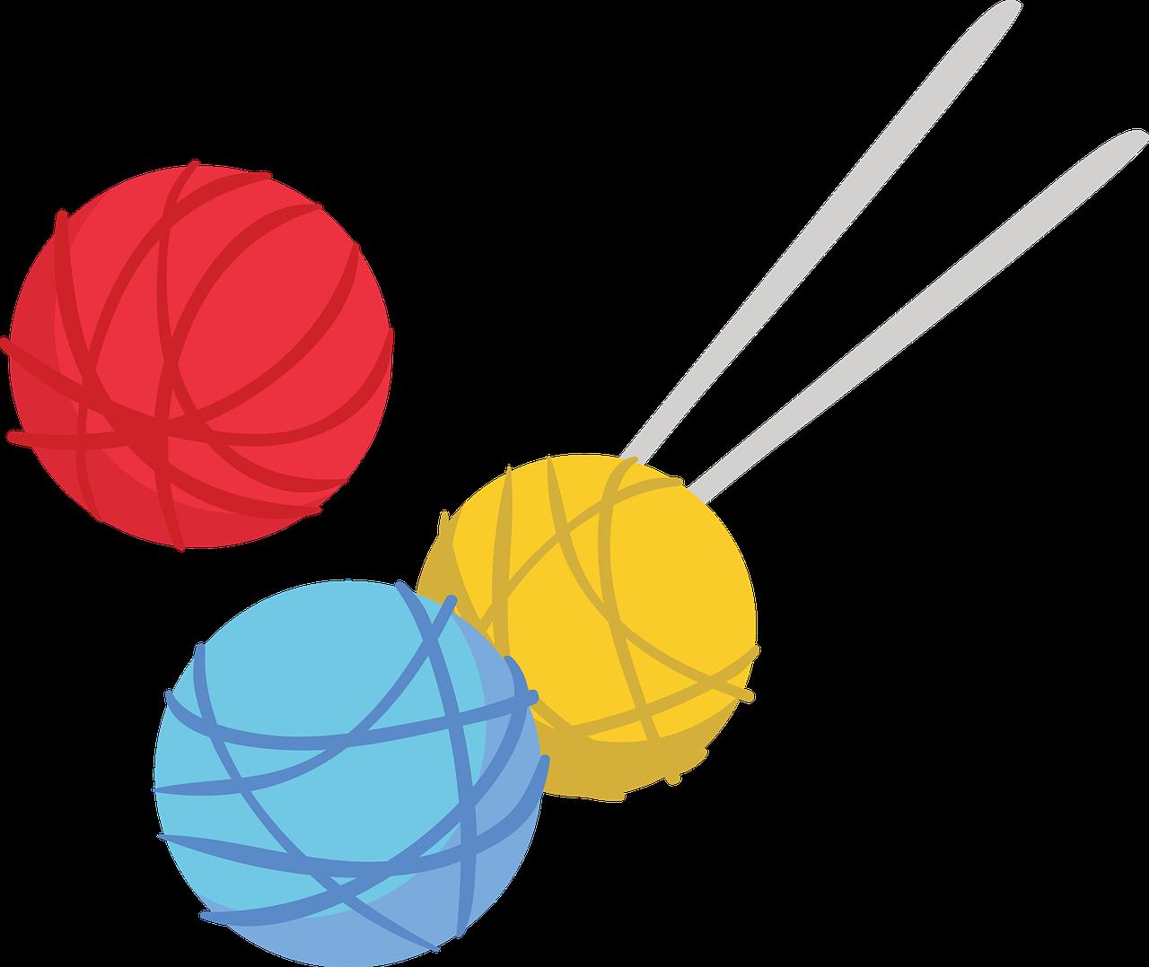 Wool Knitting Yarns Knit Needle  - ArtsyBeeKids / Pixabay